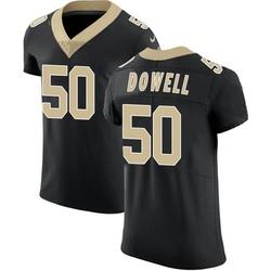 Nike Andrew Dowell New Orleans Saints Men's Elite Black Team Color Vapor Untouchable Jersey