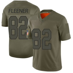 Nike Coby Fleener New Orleans Saints Youth Limited Camo 2019 Salute to Service Jersey
