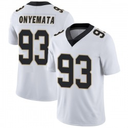 Nike David Onyemata New Orleans Saints Youth Limited White Vapor Untouchable Jersey