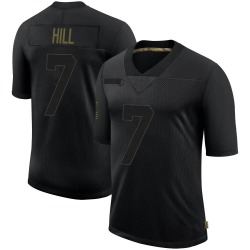 Nike Taysom Hill New Orleans Saints Youth Limited Black 2020 Salute To Service Jersey
