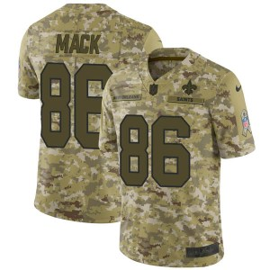 Nike Alize Mack New Orleans Saints Men's Limited Camo 2018 Salute to Service Jersey